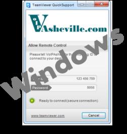 VoIP Asheville TeamViewer